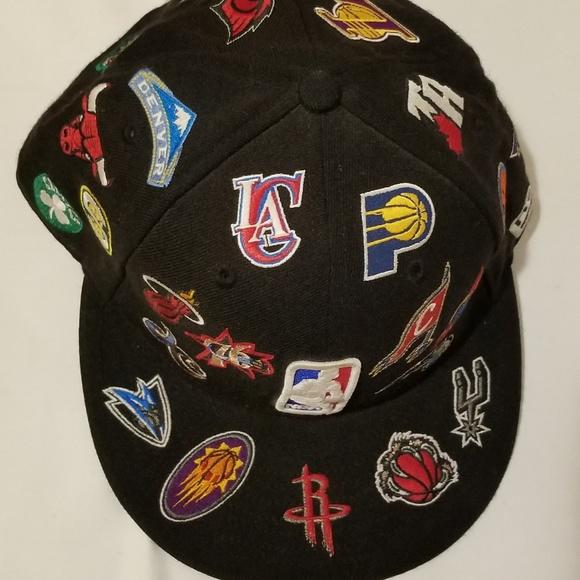 5e6d0435cd0b75 NBA Logo New Era Fitted Hat. M_5b44e8e4e944bab18754aa1e